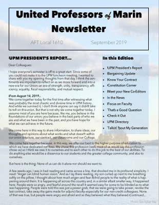 September Newletter