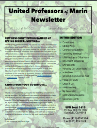 Jan-Feb 2020 UPM Newsletter